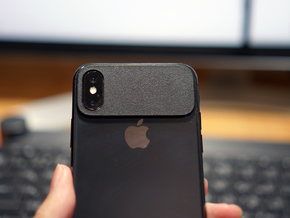 MINIMALPAD minimal bumper protector for iPhone X in Black Premium Strong & Flexible