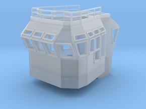 Bridge Superstructure 1/50 fits Harbor Tug  in Smooth Fine Detail Plastic