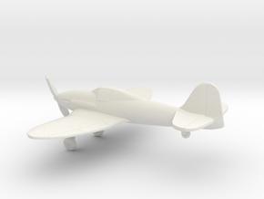 Heinkel He 112 in White Natural Versatile Plastic: 1:160 - N