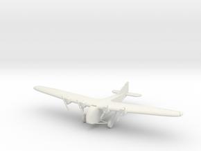 1:200 Scale Zeppelin-Staaken E.4/20 in White Natural Versatile Plastic