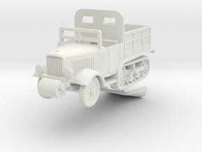 1/56 Pionierwagen Unic P.107 in White Natural Versatile Plastic