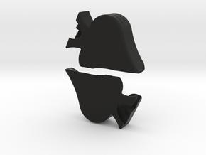 S'paid in Full in Black Natural Versatile Plastic