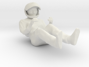 Printle F Gilles Villeneuve - 1/24 - wob in White Natural Versatile Plastic