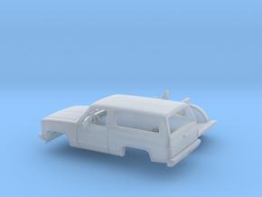 1/160 1989-91 Chevrolet Blazer Kit in Smooth Fine Detail Plastic