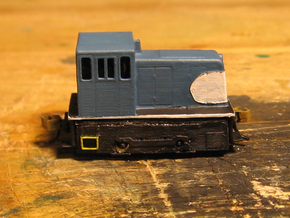 Nn3 GE 25-Tonner in Smooth Fine Detail Plastic