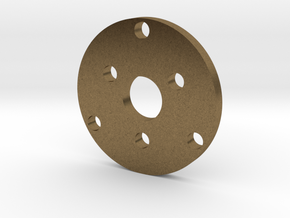 R type Small Chassis disk in Natural Bronze