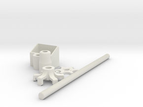 Invisible light stand for vr camera #Kandao #Obsid in White Natural Versatile Plastic