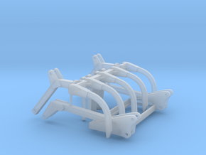 1/64 Grapple Assembly (Fits H480 loader)  in Smooth Fine Detail Plastic