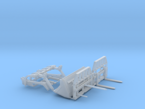 1/64 Loader Attachments in Smooth Fine Detail Plastic