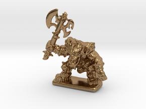 HeroQuest FrozenHorror 28mm heroic scale miniature in Natural Brass