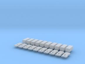 1:50 Feuerlöscher-Kasten V2 in Smooth Fine Detail Plastic