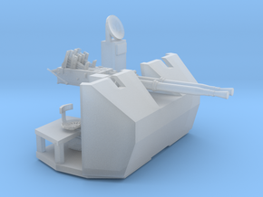 1/192 RN Twin 40mm Bofors AA Gun in Smooth Fine Detail Plastic