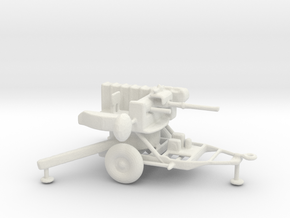 1/72 Scale M167 Vulan Air Defense System in White Natural Versatile Plastic