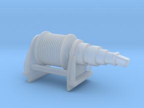 Hydraulic Winch 1:100 in Smooth Fine Detail Plastic