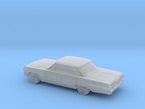 1/220 1963 Chevrolet Impala Sedan in Smooth Fine Detail Plastic