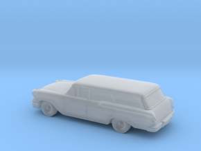 1/220 1958 Chevrolet Nomad in Smooth Fine Detail Plastic