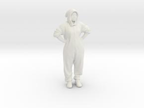 Printle C Kid 180 - 1/32 - wob in White Natural Versatile Plastic