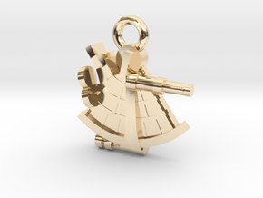 boOpGame Shop - The Sextant in 14K Yellow Gold