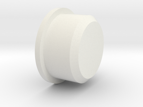 Duck button (Flat) in White Strong & Flexible
