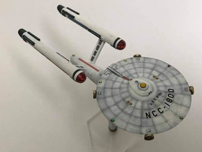 3125 Scale Federation Galactic Survey Cruiser WEM in Smooth Fine Detail Plastic