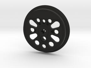 XXL Boxpok Flanged Driver - Large Counterweight in Black Premium Versatile Plastic