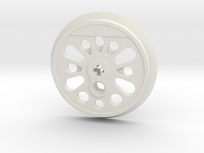 XXL Boxpok Flanged Driver with Traction Groove in White Premium Strong & Flexible