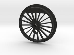 XXL Flanged Driver -19 Spokes No Tire Groove in Black Premium Versatile Plastic