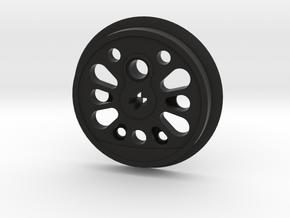 XL Boxpok Flanged Driver - S Counterweight in Black Premium Versatile Plastic