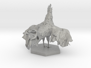 Rooster in Aluminum: Extra Small