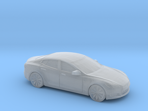 1/220 2012-16 Tesla Model S in Smooth Fine Detail Plastic