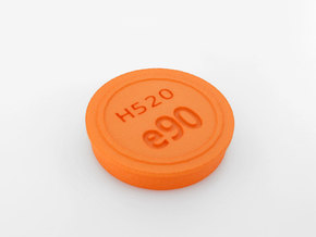 e90_cover in Orange Processed Versatile Plastic