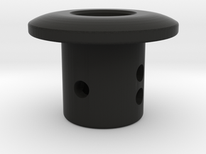 TC Adjustable Body Mount (5mm) in Black Natural Versatile Plastic
