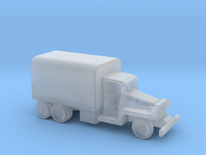 1/245 Scale CCKW Truck Cover in Smooth Fine Detail Plastic