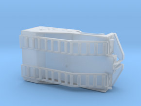 1/50th Mobile Home tug or equipment truck body in Smooth Fine Detail Plastic