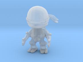 1/60 Ninja Turtle Miniature in Smooth Fine Detail Plastic