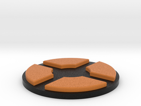 TF2 logo pedestal in Full Color Sandstone