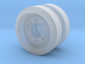 C135844 RIM AND DISC ASSEMBLY 1:35 in Frosted Extreme Detail