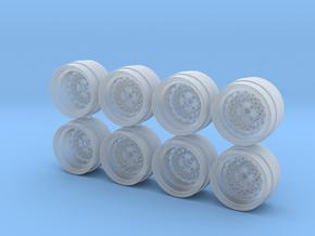 Rays Volk Mesh Hot Wheels Rims in Smoothest Fine Detail Plastic