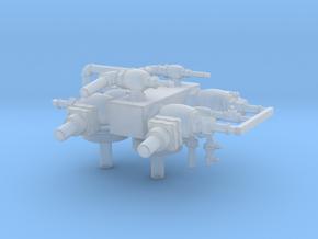 Light Mikado Steam Turret in Smooth Fine Detail Plastic
