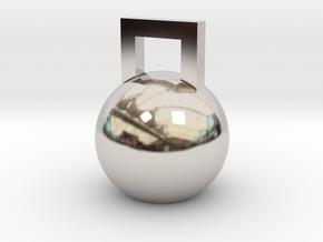 Mini Kettleball in Platinum
