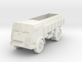 1/72 Fiat 665 NM Scudato in White Natural Versatile Plastic