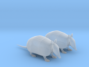 Armadillos (S) in Smoothest Fine Detail Plastic