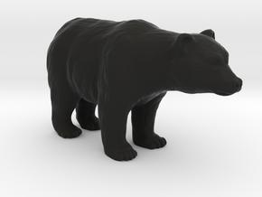 Bear in Black Natural Versatile Plastic: 1:87 - HO