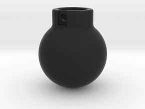 1-50 - 5000KG- Wrecking Ball - Ball Shape in Black Natural Versatile Plastic