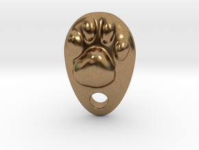 Cat Hand A1 in Natural Brass: Small