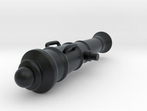 Napoleonic Gun in Black Hi-Def Acrylate