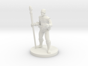 Warforged Druid in White Natural Versatile Plastic