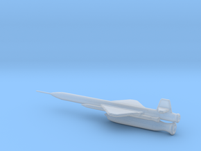 1/87 Scale X-7 Missile in Smooth Fine Detail Plastic