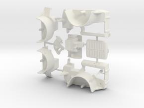 Barney 1/32 upsize in White Natural Versatile Plastic