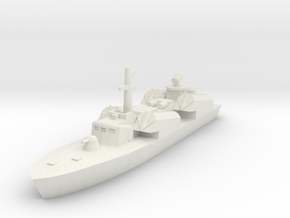 OSA-1 Missile Boat 1/350 single model in White Strong & Flexible: 1:350
